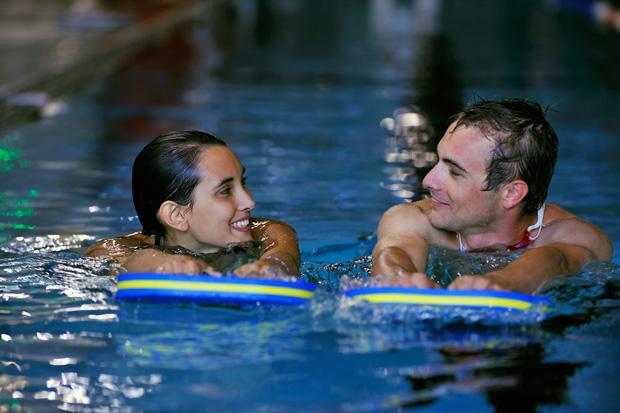 Havuzdaki en etkili kilo kaybı egzersizleri