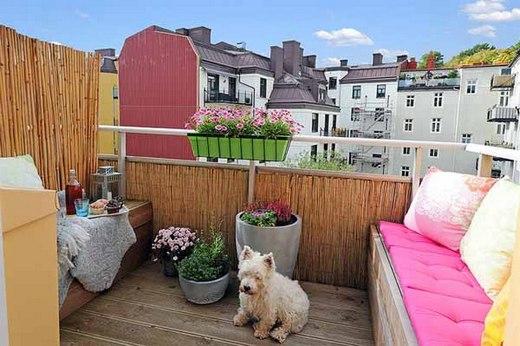 Evinizin terasını modern ve ilginç bir tasarımla düzenlemek