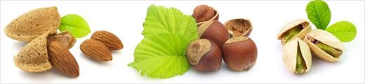 Badem, fındık ve antep fıstığı l-arjinin adlı aminoasitten zengindir ve dopamin hormonu sentezine yardımcı olur.