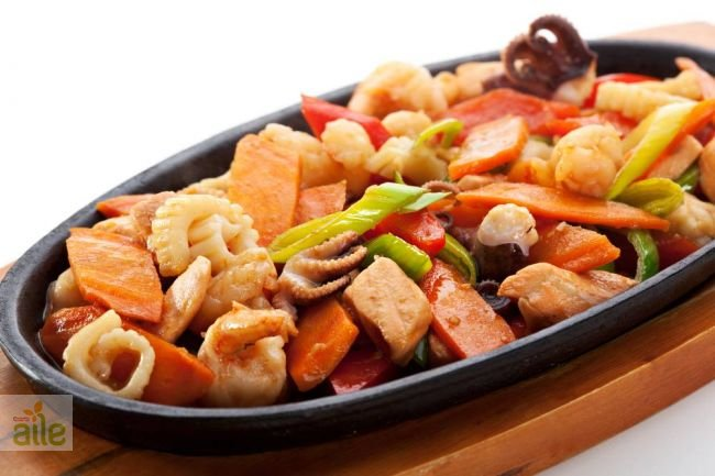 Terbiyeli somon baligi tarifi somon baligi ve rozbifli patates tarifi